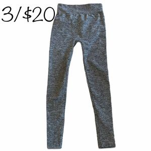 Tattoo Gray leggings in new condition
